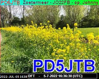 History #15 de PE7OPI