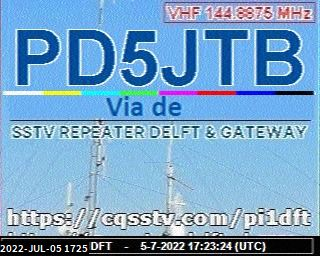 7th previous previous RX de PE7OPI