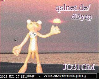 History #12 de PE7OPI /A