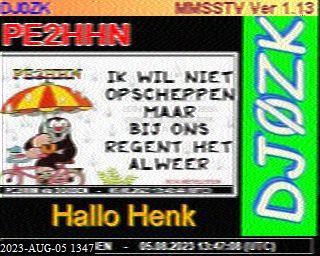 6th previous previous RX de PE7OPI /A